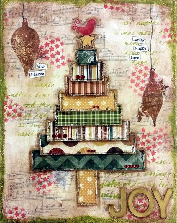 DIY Mixed Media Tree Art Projects (33)