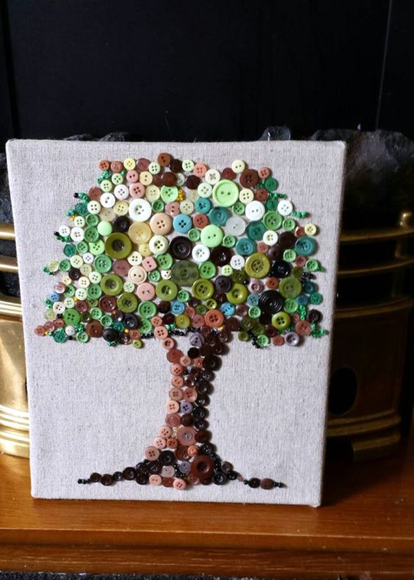 Craft Ideas For Canvases