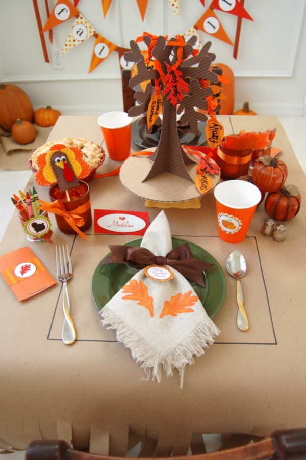 40 diy thanksgiving decoration ideas for everyone bored art Thanksgiving decorating ideas