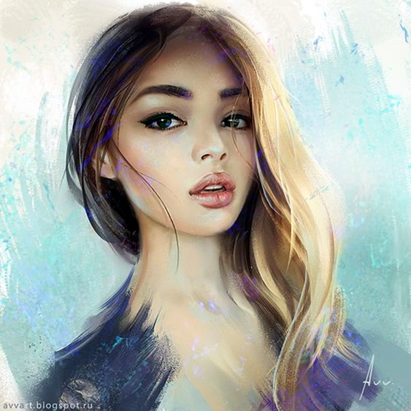 Spectacular Digital Painting Portraits (12)
