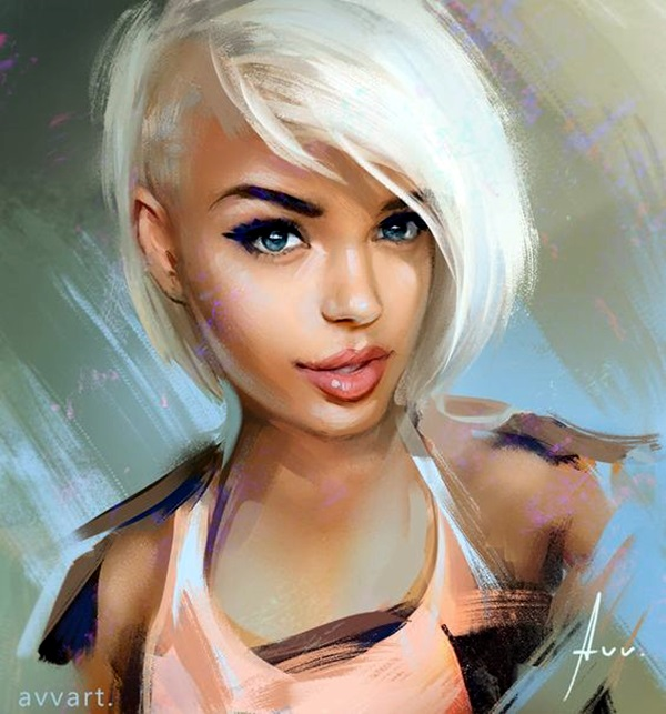 Spectacular Digital Painting Portraits (23)