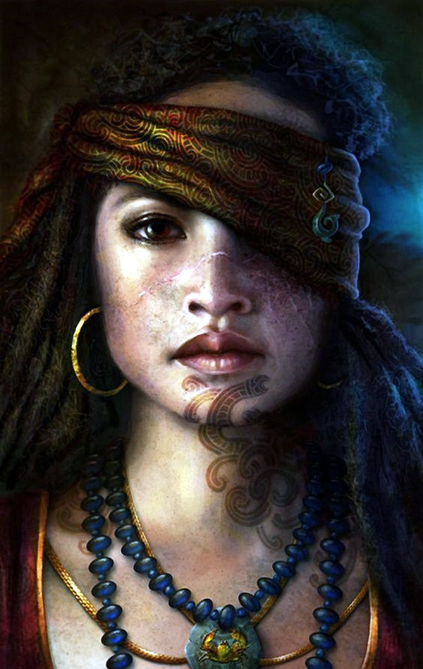 Spectacular Digital Painting Portraits (33)