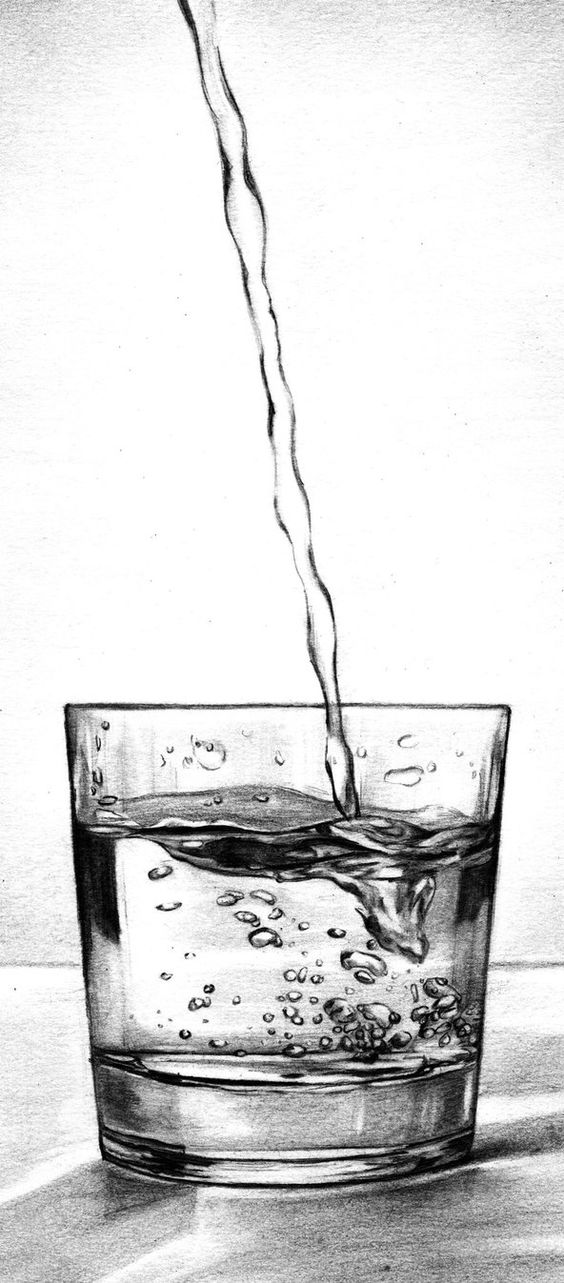 Scribble Drawing Of Objects : How to draw glass and transparent objects learn more