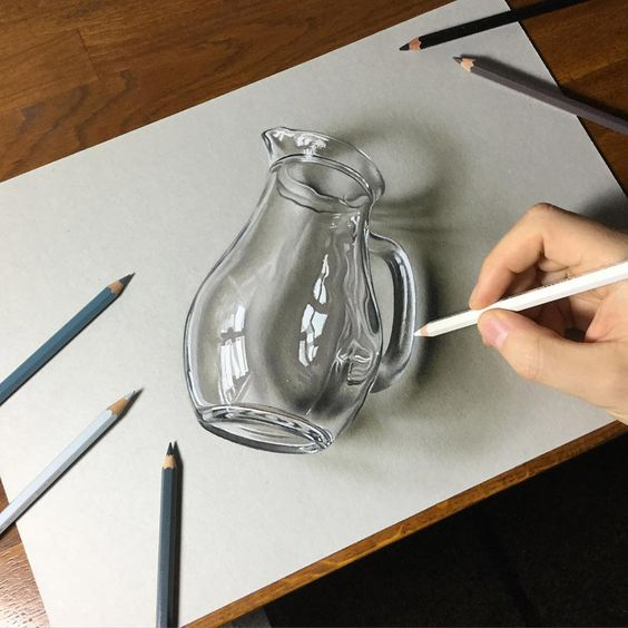 How To Draw Glass And Transparent Objects Learn More