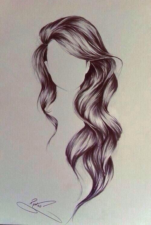 hair drawing 1