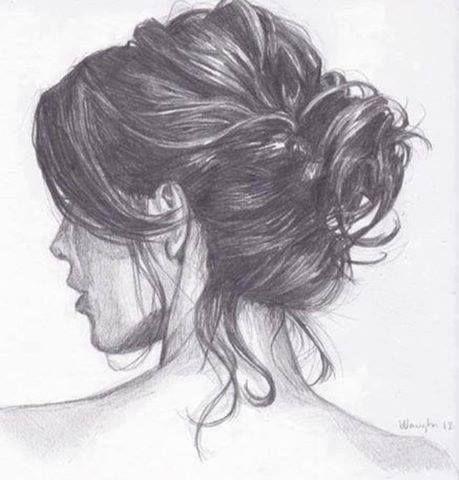 hair drawing 17