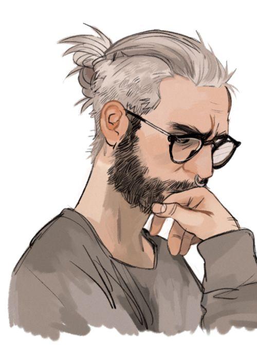hair drawing 18