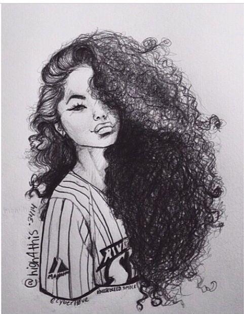 hair drawing 21