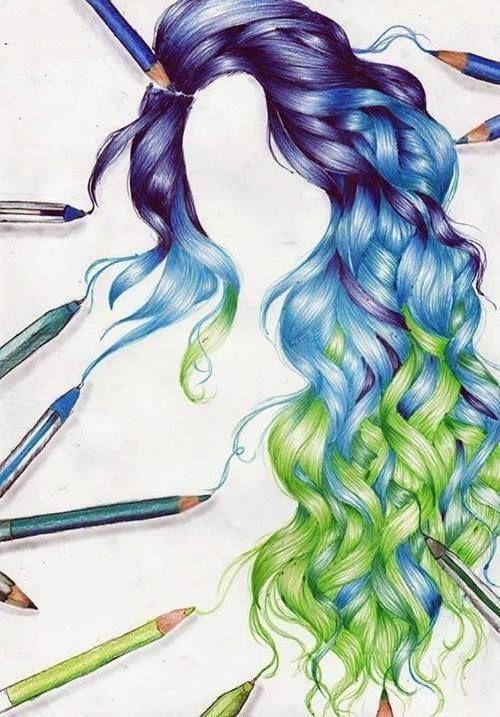 hair drawing 23