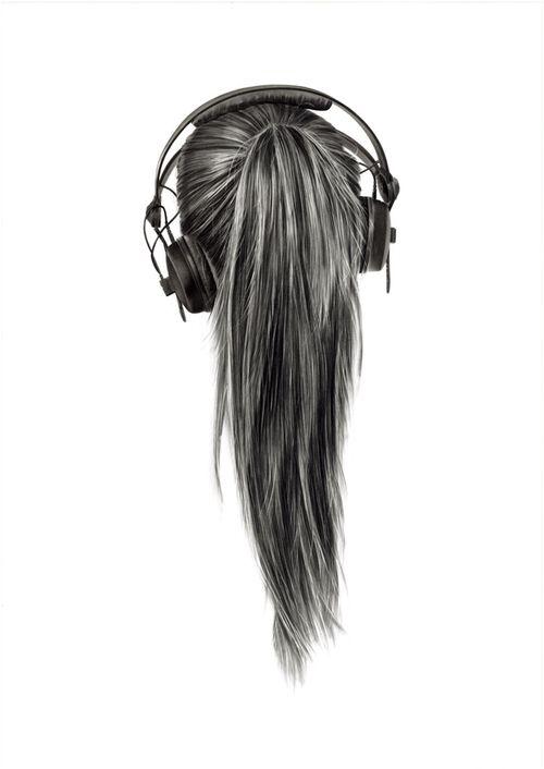 hair drawing 24