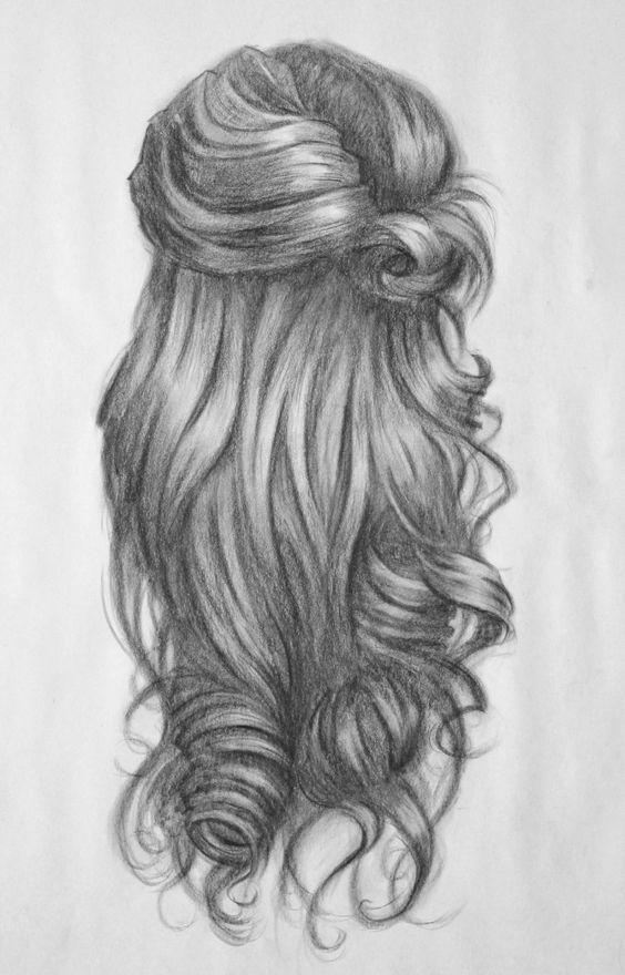 hair drawing 26