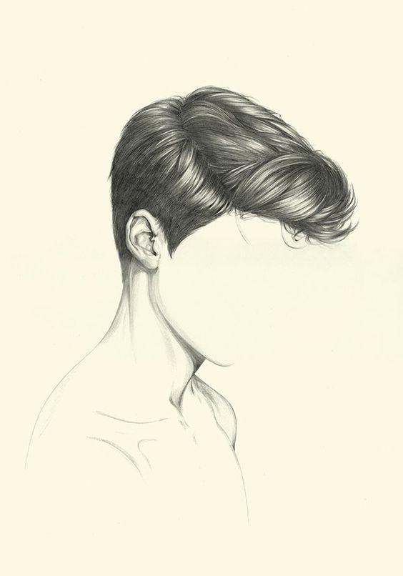 hair drawing 6