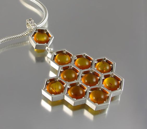 honeycomb jewelry designs 1
