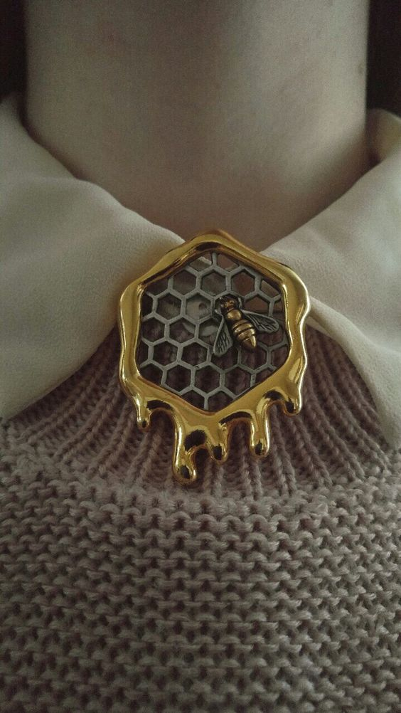 honeycomb jewelry designs 2