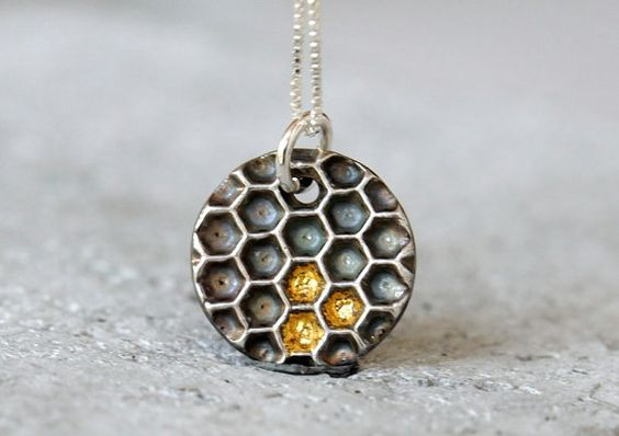 honeycomb jewelry designs 9