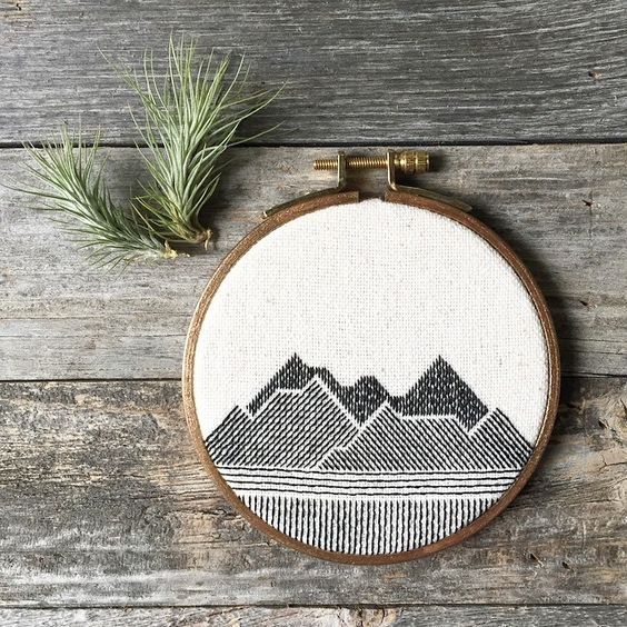 Happy And Harmonious Hoop Art To Decorate Your Home