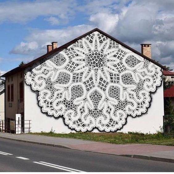 lace street art 1