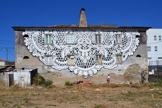 lace street art 17