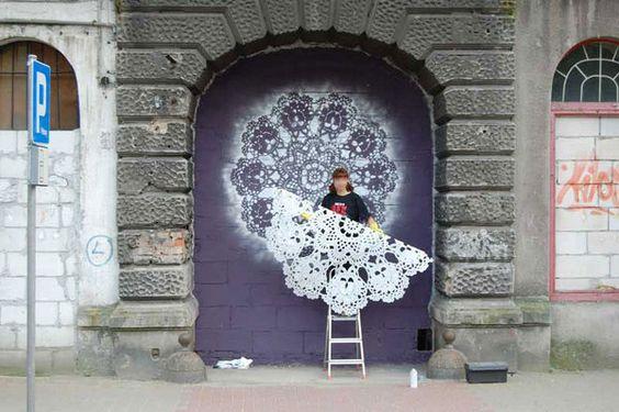 lace street art 23