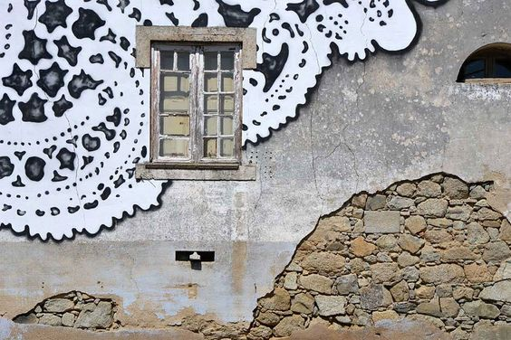 lace street art 27