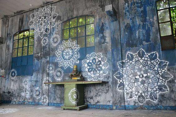 lace street art 4