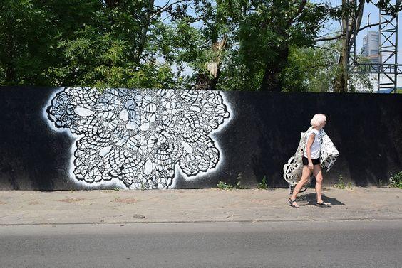 lace street art 5