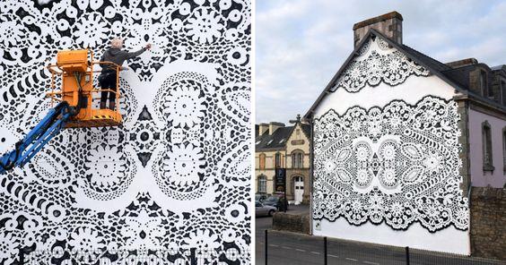 lace street art 6