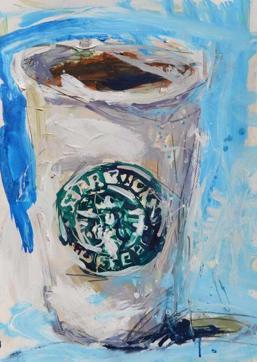 paper cup painting 11