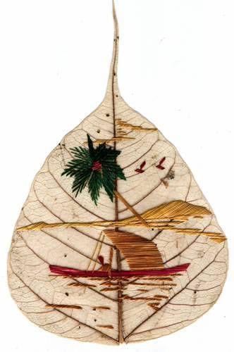peepal leaf art 10