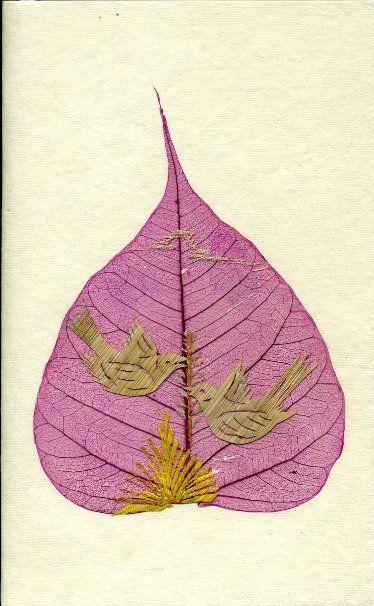 peepal leaf art 13