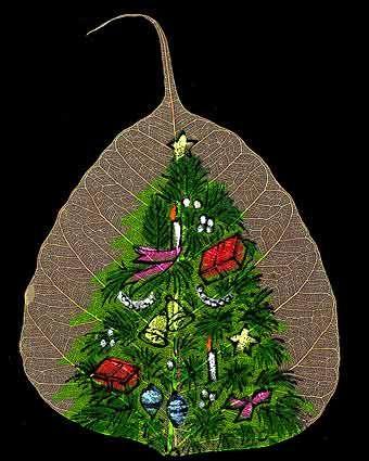 peepal leaf art 17