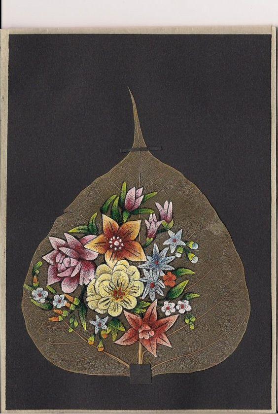 peepal leaf art 25