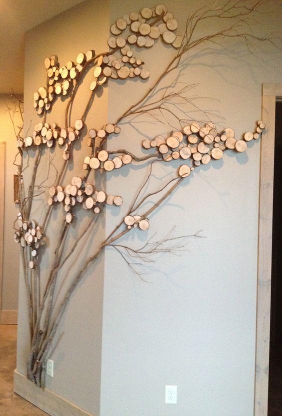 Декоративные деревья  в интерьере