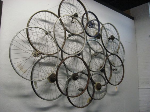 40 leonardo da vinci ways to use old bicycle rims bored art
