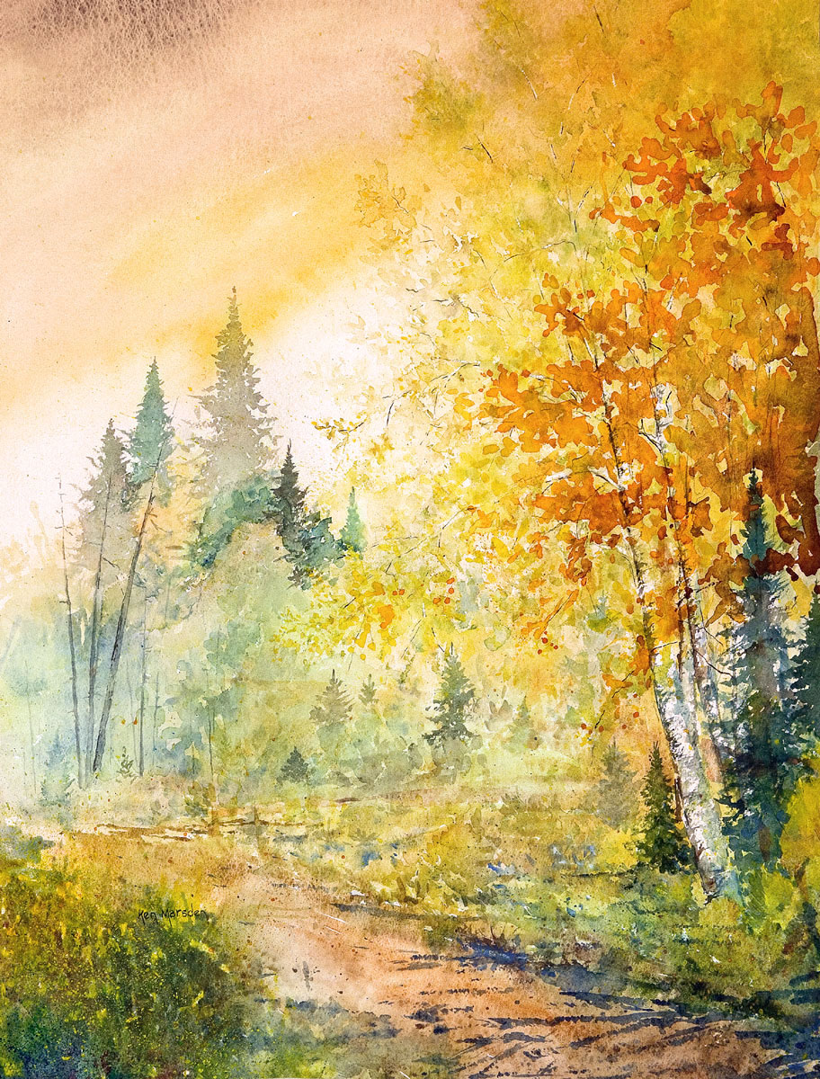 Compelling Korean Watercolours Art That Touch You At An ...