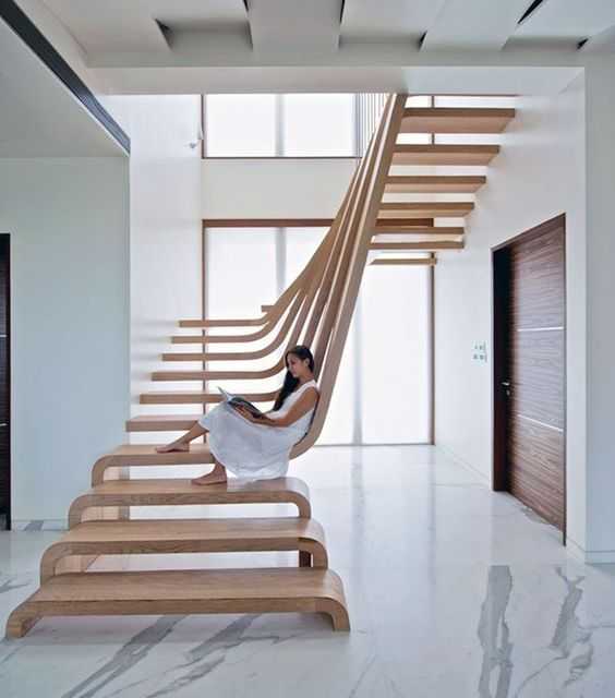 Superb Staircase Design Ideas To Make Your Home Sizzle - Bored Art