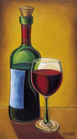 Wonderfully uplifting and intoxicating wine art bored art for What kind of paint to use for wine bottles