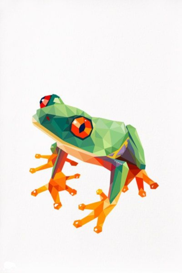 40 Geometric Animal Illustrations For Many Purposes