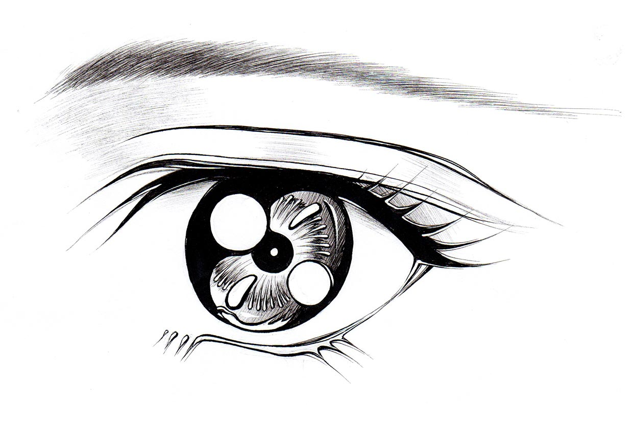 How To Draw Eyes For Anime