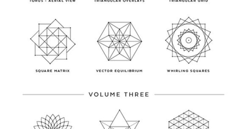 36 Sacred Geometry Vectors And Their Meanings Bored Art