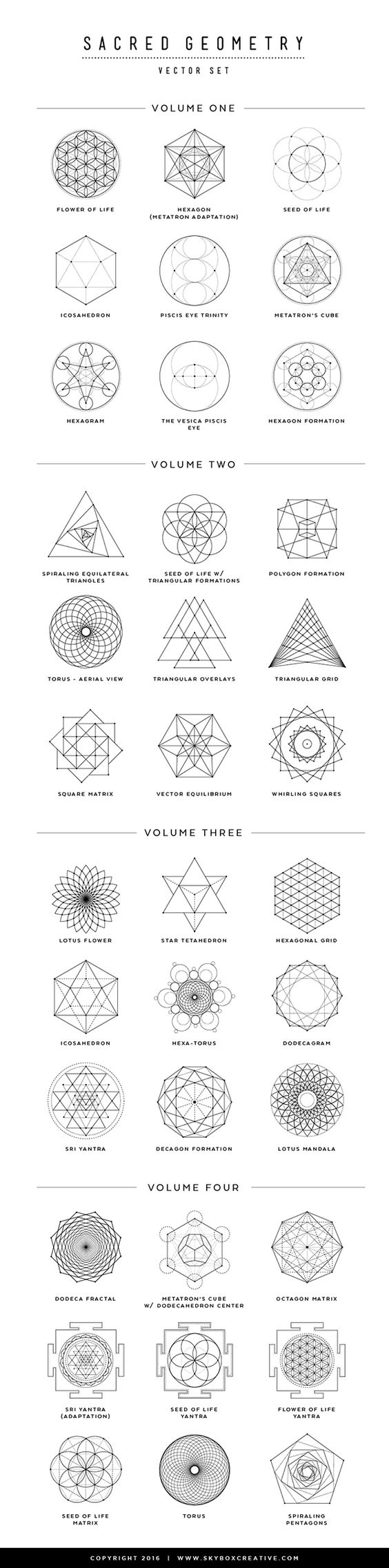 36 sacred geometry vectors and their meanings bored art. Black Bedroom Furniture Sets. Home Design Ideas