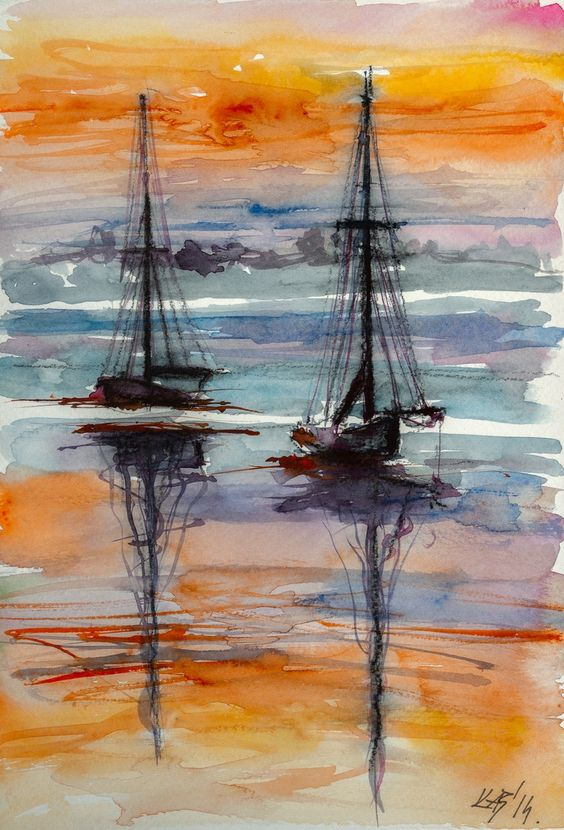 seaside-watercolor-paintings-14