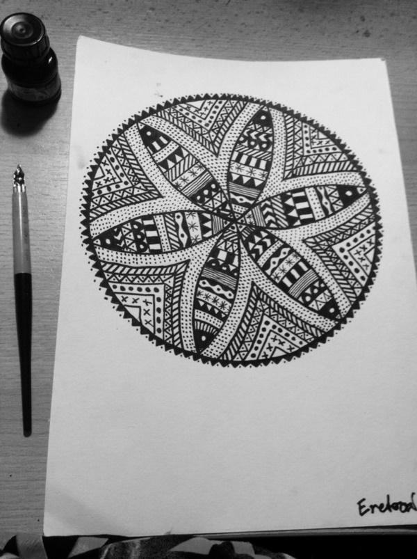 black-and-white-mandala-art-drawings0021
