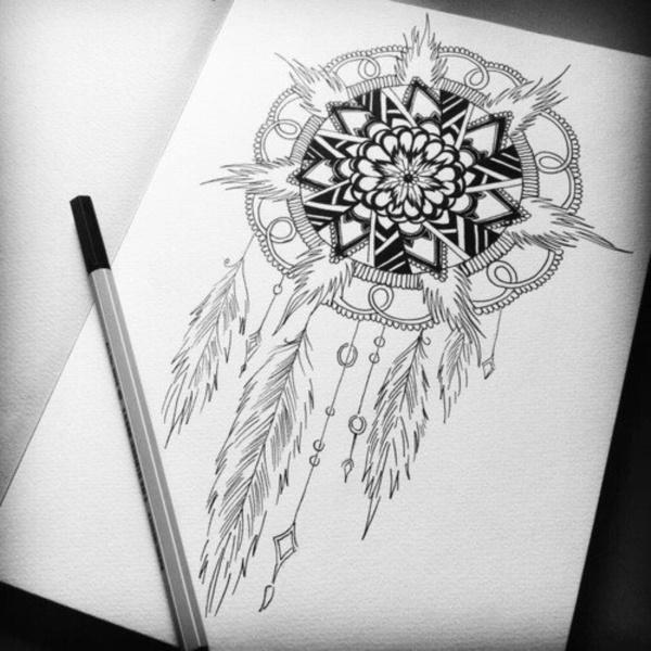 black-and-white-mandala-art-drawings0071