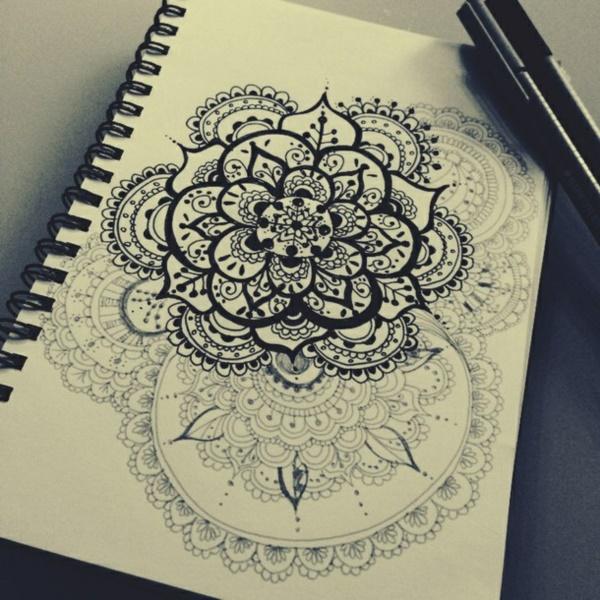 black-and-white-mandala-art-drawings0081