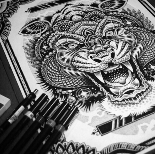 black-and-white-mandala-art-drawings0111