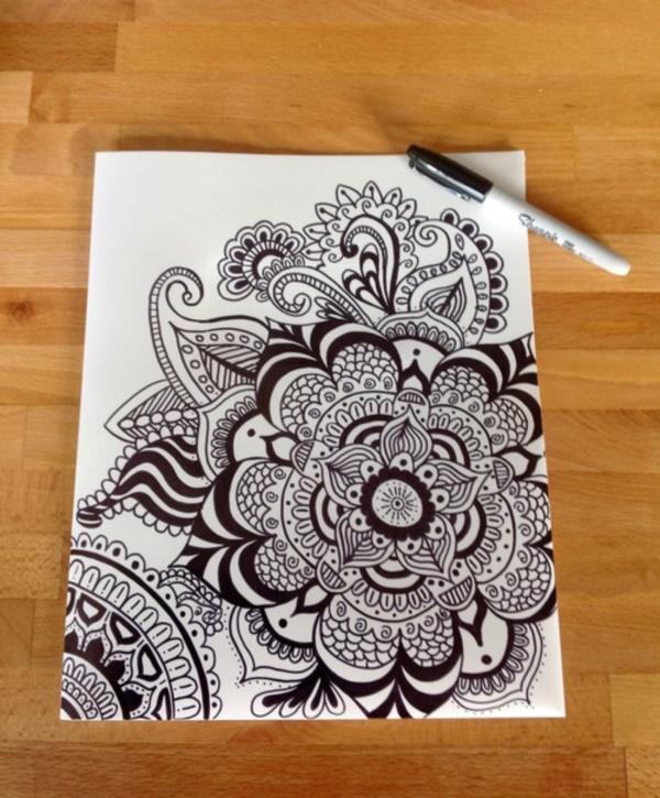 black-and-white-mandala-art-drawings0121
