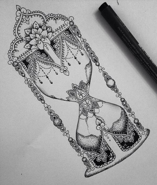 black-and-white-mandala-art-drawings0141