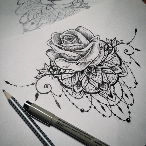 black-and-white-mandala-art-drawings0191