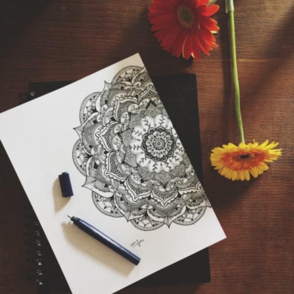 black-and-white-mandala-art-drawings0211